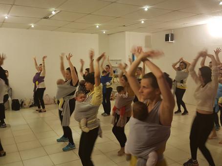 Aulas de Dança para Gestantes e Mamães/Bebês