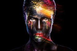 Creativ makeup