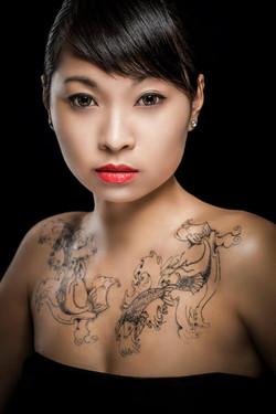 Temptu tatoo