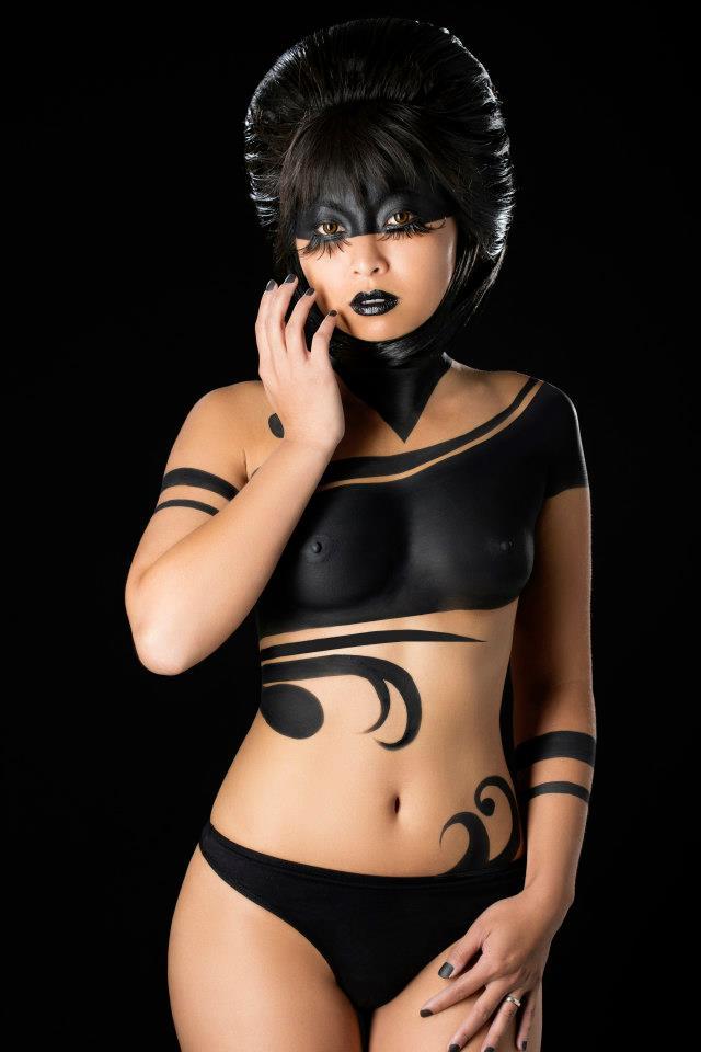 Bodypainting : Stephanie BERNARD