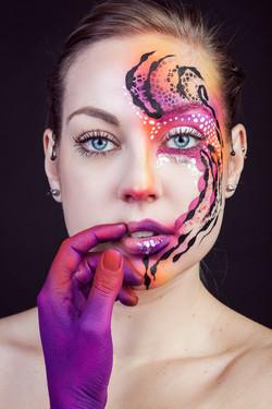 Beauty makeup / Creativ makeup