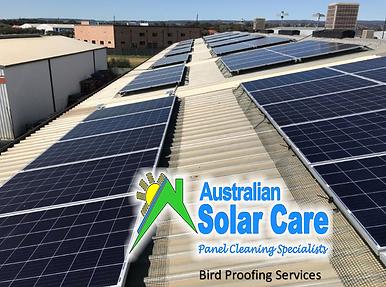Australian Solar Care Solar Panel Cleaning