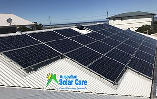 Bird proofing solar skirt and solar panel cleaning Adelaide