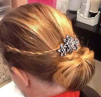 girl, hairdo, hair, hairstyle, bun