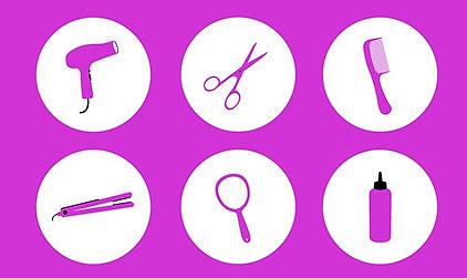 valeries mobile hair, makeup, beauty, salon tools, scissors, comb, iron, straightener, hairdryer, blowdryer, mirror