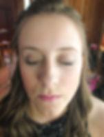 girl, makeup, hair