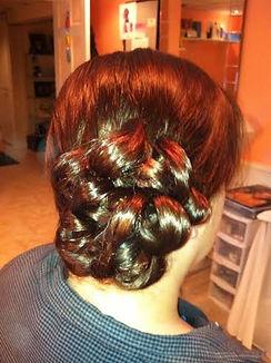 girl, hairdo, curls, bun, hair, hairstyle