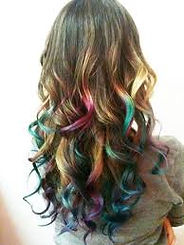 colored hair, hair color, color, hair, curls