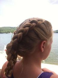 girls, party, hair, makeup, valerie, valerie's mobile hair, braids