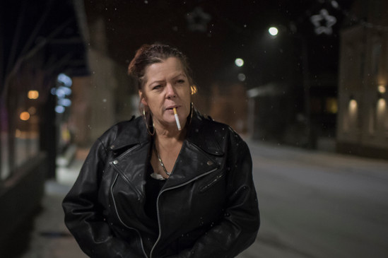 Mother of three, Liselott, 44, helped her motorcycle gang member boyfriend to captive and blackmail a man.