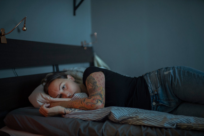 Therese Storm, 36, is living with the diagnosis PMDS. For about two weeks every month her personality and behavior changes. She easily gets angry, frustrated and her anxiety makes her tired.
