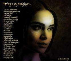 The key to my empty heart...