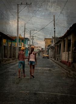 Back home in Baracoa...