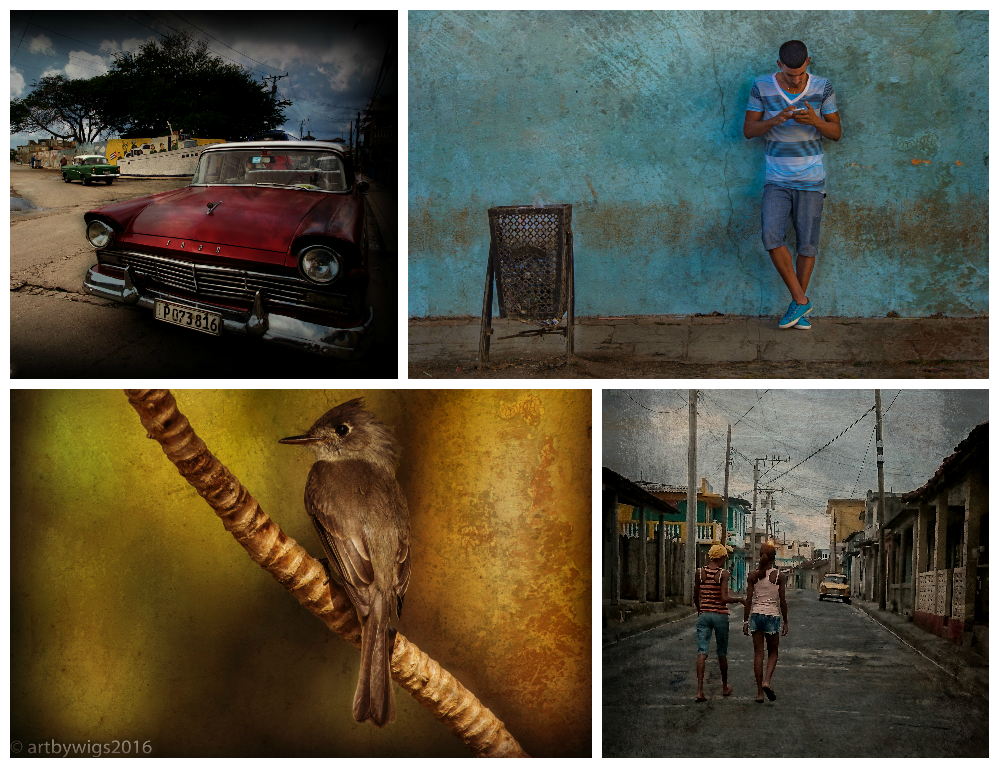 from one end of Cuba to the other...