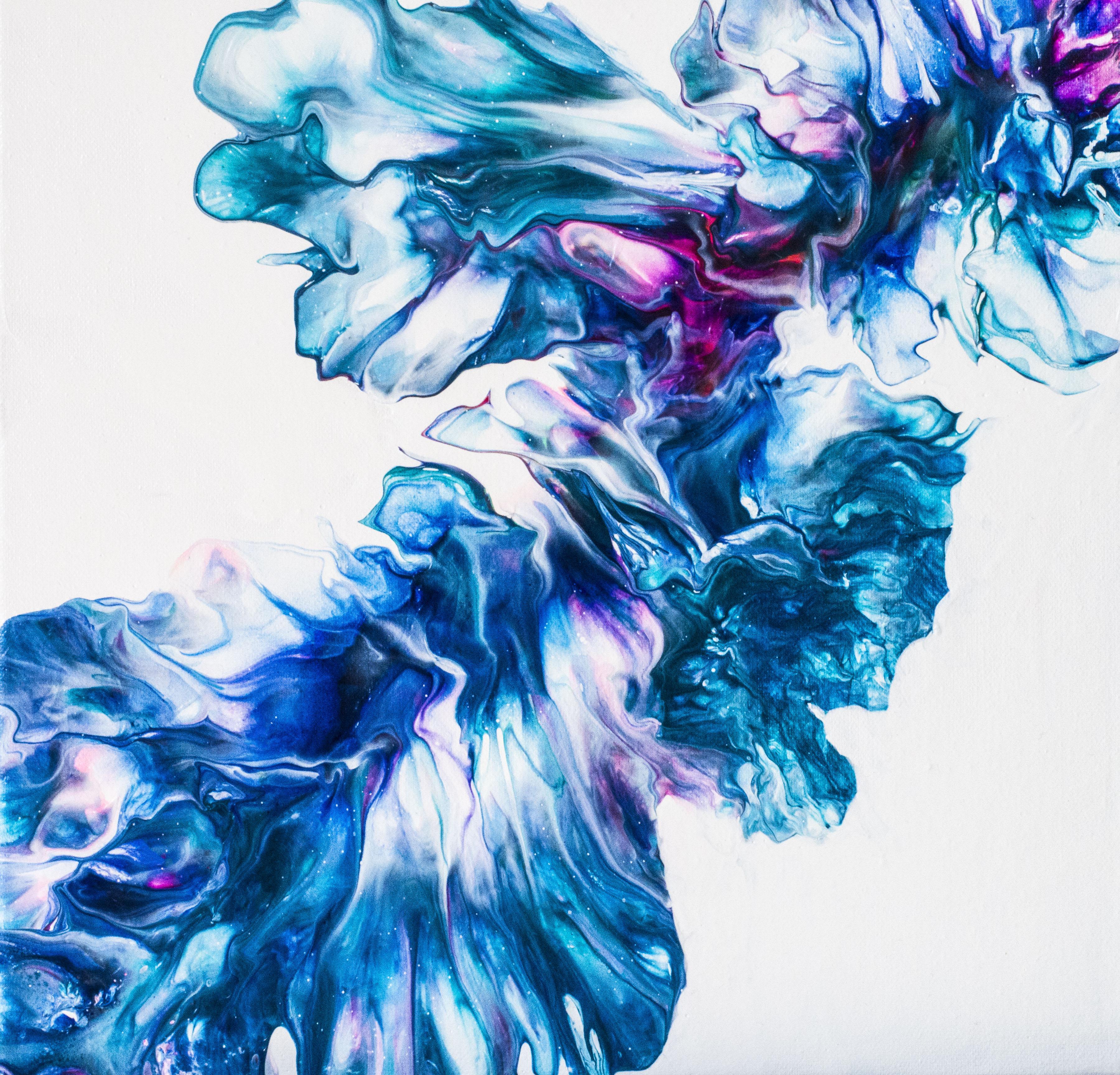 flowery blues...