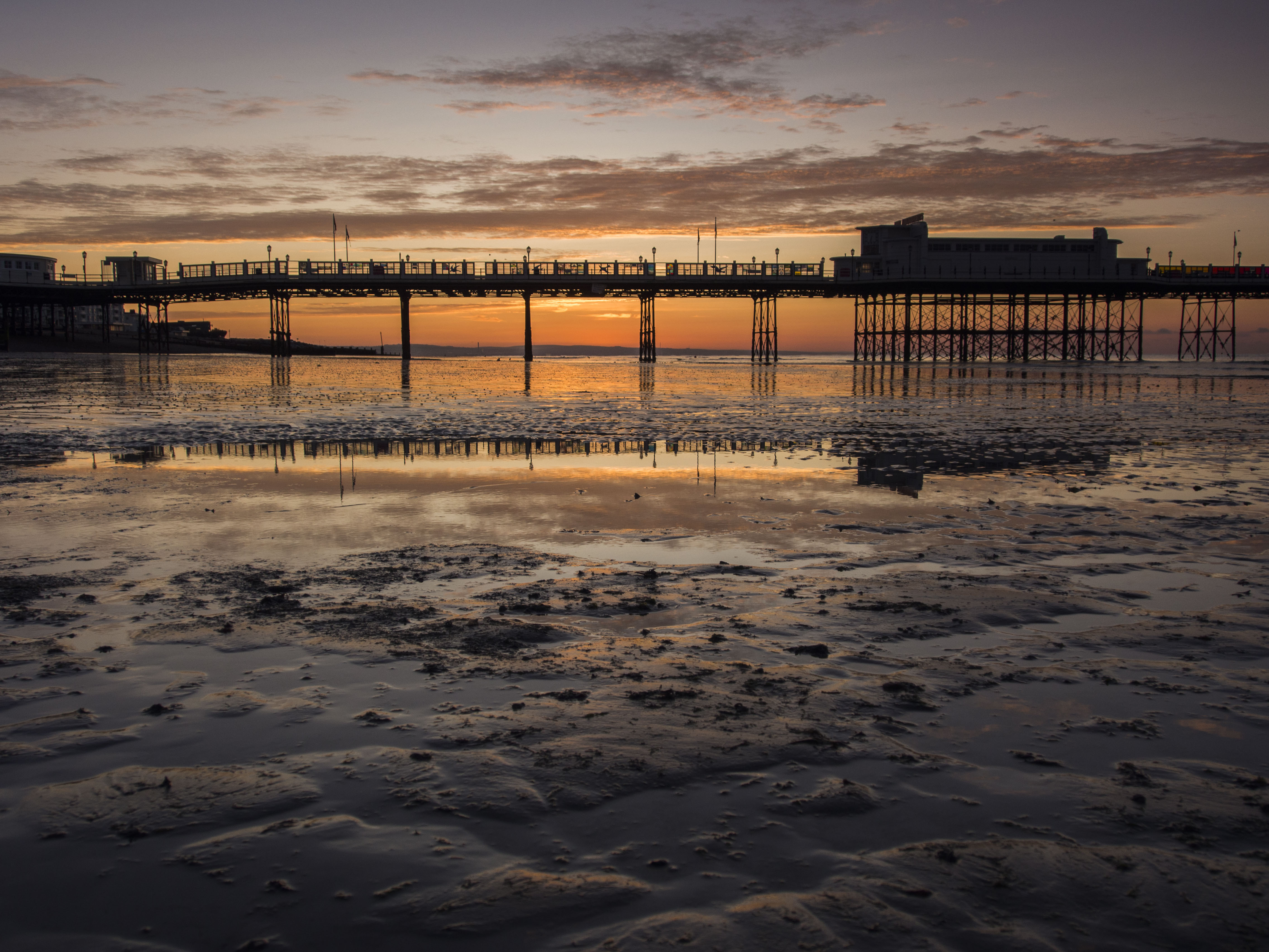 Worthing Pier Sunrise 1