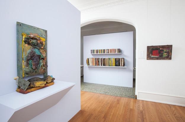 LOST LIBRARY: STELLA WAITZKIN installation view at the John Michael Kohler Arts Center, 2018. Photo courtesy of John Michael Kohler Arts Center.