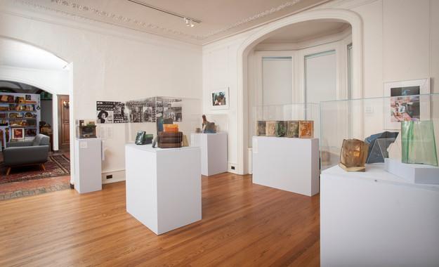 VOLUMES: STELLA WAITZKIN installation view at the John Michael Kohler Arts Center, 2017. Photo courtesy of John Michael Kohler Arts Center.