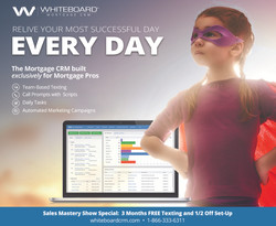 Half Page Ad for Whiteboard CRM
