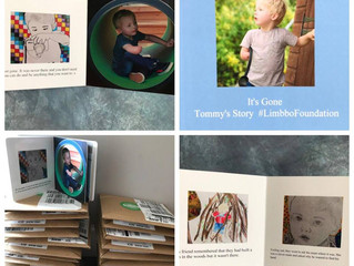 Our first limb difference book is complete!