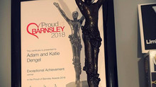 LimbBo Honoured To Receive Proud Of Barnsley - Exceptional Achievement Award