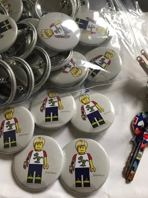 LimbBo Pin Badge