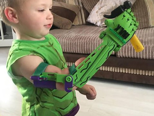 KOBI SMASH! - A superhero in the making!