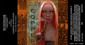Copper Cassie Label