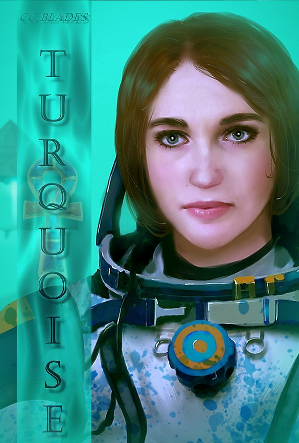 Turquoise Front Cover