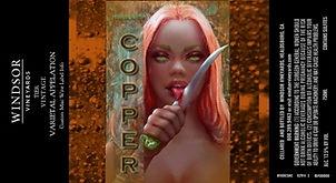 Copper Sydney Label