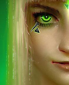 Xanthe Close-Up Face