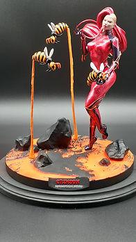 Crimson Resin Kit Painted