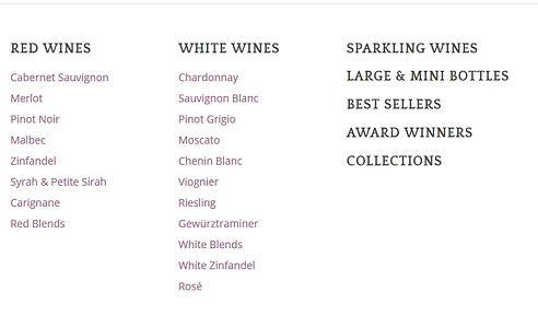 List of Windsor Wines