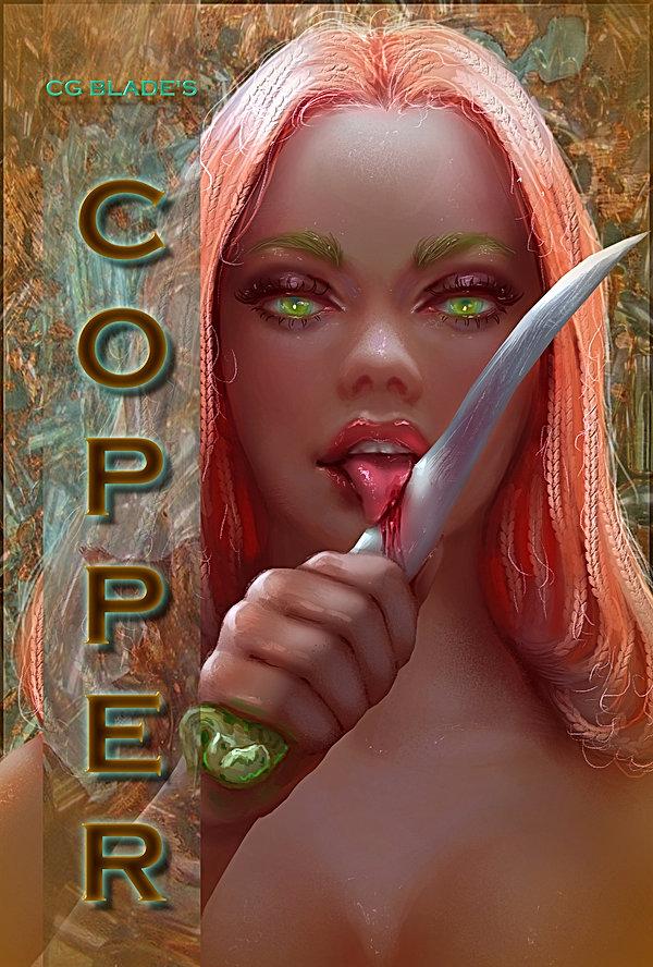 Copper Front Cover Art Sydney
