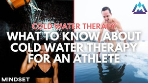 What to Know About Cold Water Therapy for an Athlete