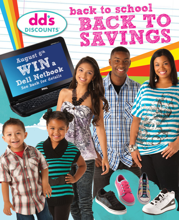 dd's Discounts Back to School Campaign