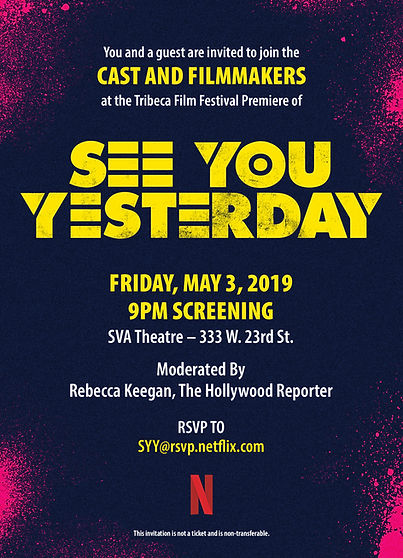 SeeYouYesterday_TribecaFF_Invite_Screeni