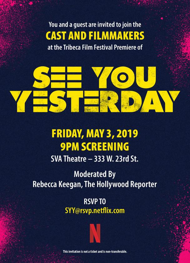 SeeYouYesterday_TribecaFF_Invite_Screeni