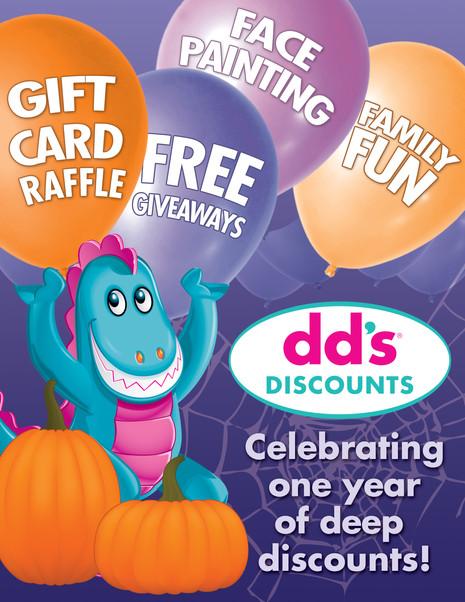 dd's Halloween Birthday Event