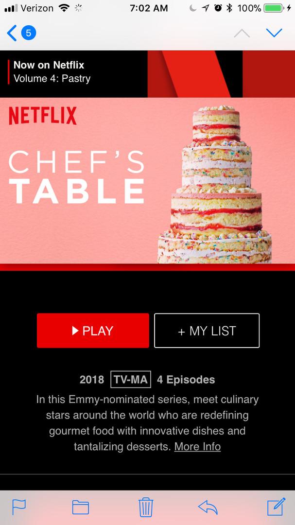 Netflix Interface Design