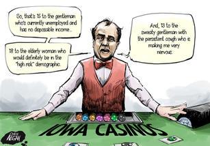 Iowa Casinos Reopen