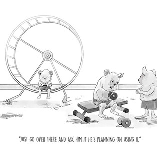 Hamster Work Out