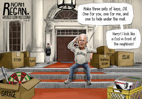 1-24-21 Biden Locked Out Noah Regan wate
