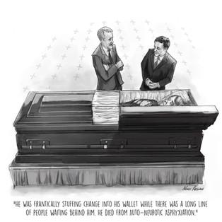 Awkard Funeral