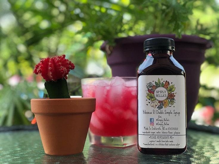 Hibiscus El Diablo Simple Syrup