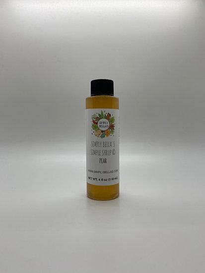 MINI Pear Simple Syrup