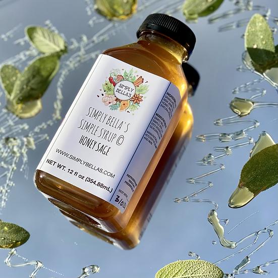 Honey Sage Simple Syrup