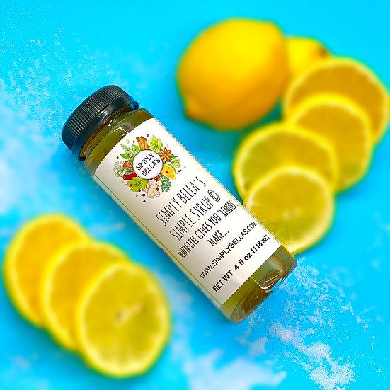 MINI Lemon Simple Syrup