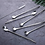 Thumbnail: 8.5'' Reusable Metal Stainless Steel Drinking Straw