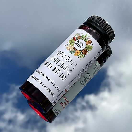 MINI Beet Simple Syrup
